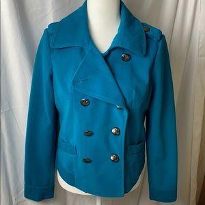 Cato Teal Pea Coat